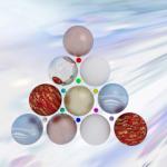 Fondos de escritorio: Navidad 2012 (XV) : Árbol de navidad figurativo con bolas [ Imagen 1280×1024 ]