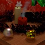 Postal de navidad (VI) [ Alumnos ] [ Blender ][ Trabajos ]