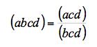 Definicion cuaternas rectas