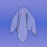 Fantasma de Halloween en Blender