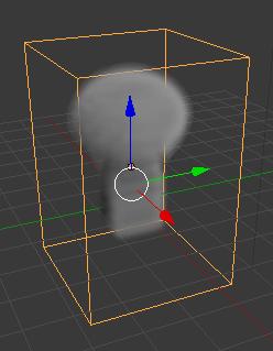 simulación de humo