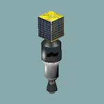 Cohete [ #GIF animado ]