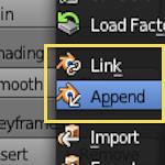 Añadir objetos desde un fichero [ Blender ]