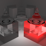 Volume Shaders : Volume absorption [ Blender ][ Cycles ]