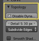 Detalle topologia dinamica