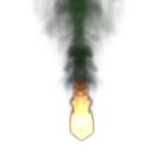 Fuego y Humo : Efecto de la resolución