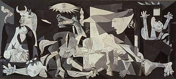 350px-PicassoGuernica