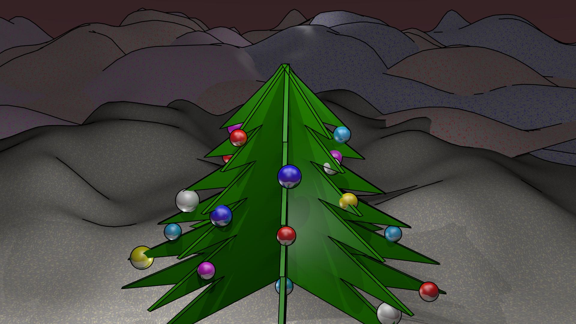 Fondos de escritorio: Navidad 2014 (I) : Árbol de navidad [ Imagen ...