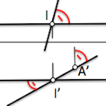Theorem of the three perpendicular