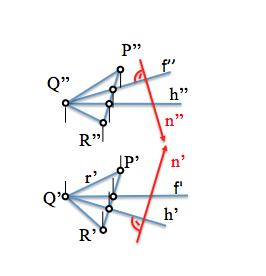 plano y rectas notables y perpendicular