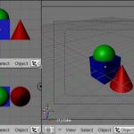 Animación 3D, Crear Ventanas y Asignar Vistas [ Blogs experimentales ] [ Blender ]