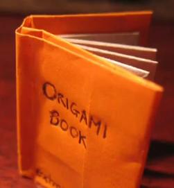 Origami c mo hacer un libro piziadas gr ficas - Como hacer un libro hueco ...