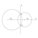Geometría métrica : Haz elíptico de circunferencias
