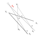 Geometría proyectiva: Determinación de elementos homólogos en haces proyectivos